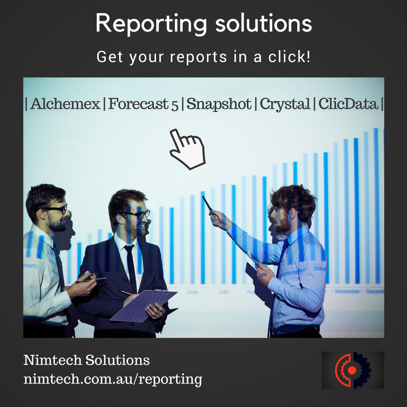 Reporting Solution 2017 08 10